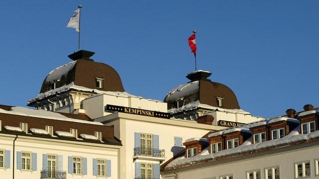 Das Kempinski Grand Hotel in St. Moritz gehört zu den besten Adressen im Nobel-Skiort.