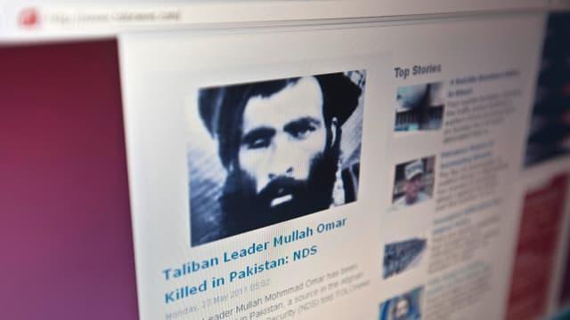 Il schef da la Taliban, Mullah Omar duai esser mort en consequenza d'ina malsogna.