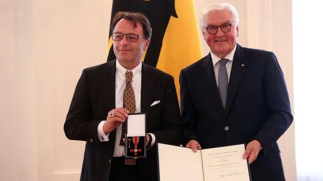 Radomski und Steinmeier.