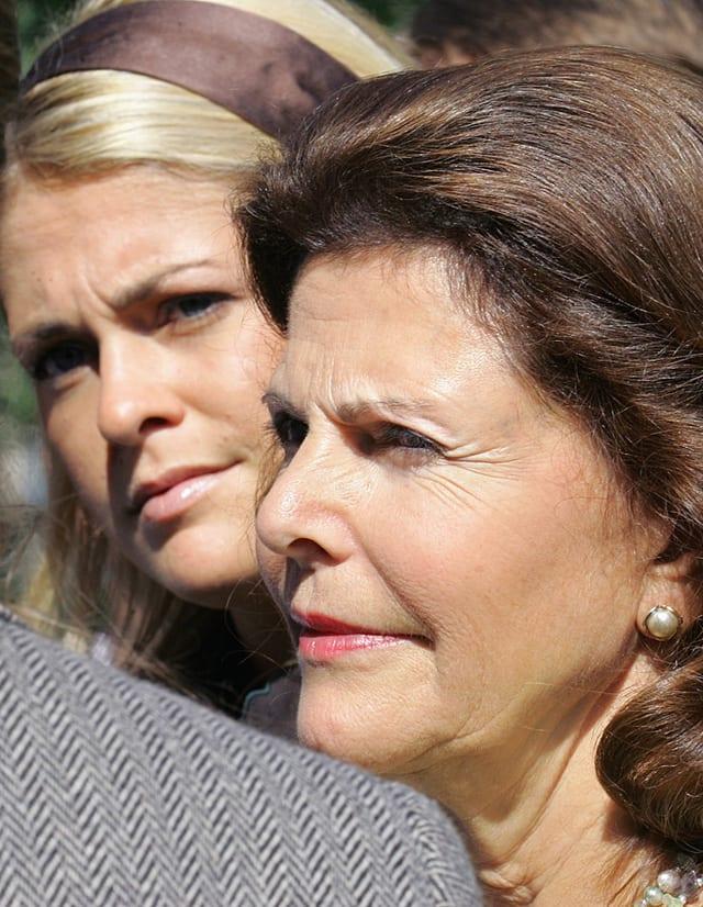 Prinzessin Madeleine von Schweden und Königin Silvia