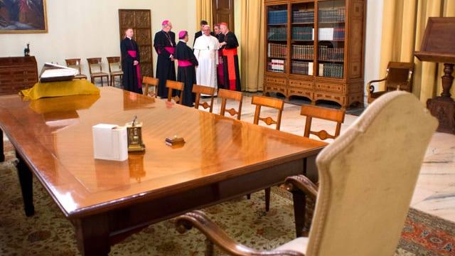 Papstraum im Vatikan