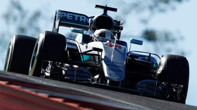 Lewis Hamilton sin la pole position ad Austin TX.