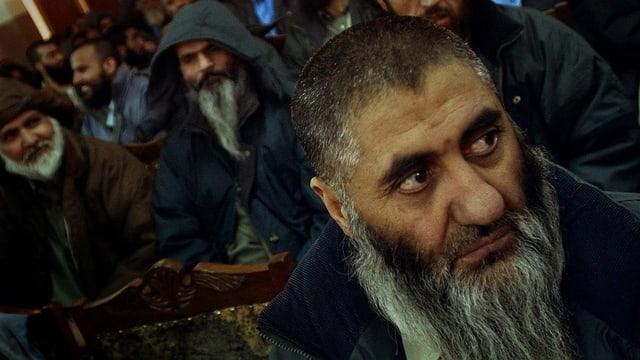 Porträt eines afghanischen Gefangenen