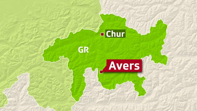Karte mit Avers