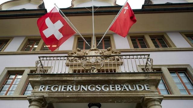 Das Regierungsgebäude im Kanton Schwyz, in welchem der Kantonsrat tagt