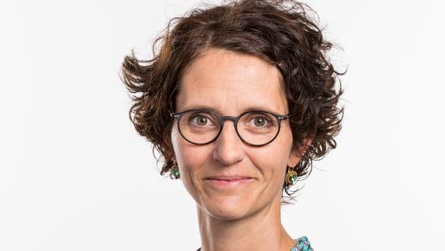 Porträt Bettina Fredrich.