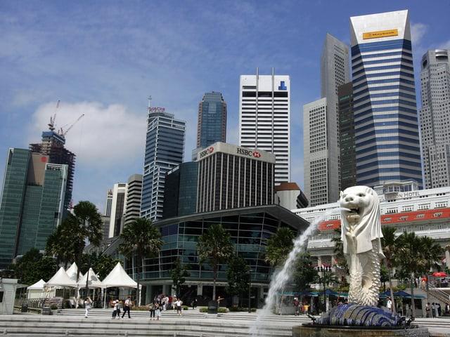 Singapurs Wahrzeichen «Merlion»