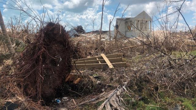 Zerstörungen an der Kirche