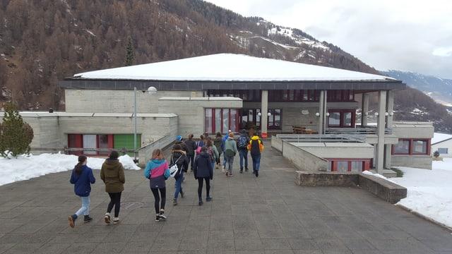 La scola a Sta. Maria in Val Müstair