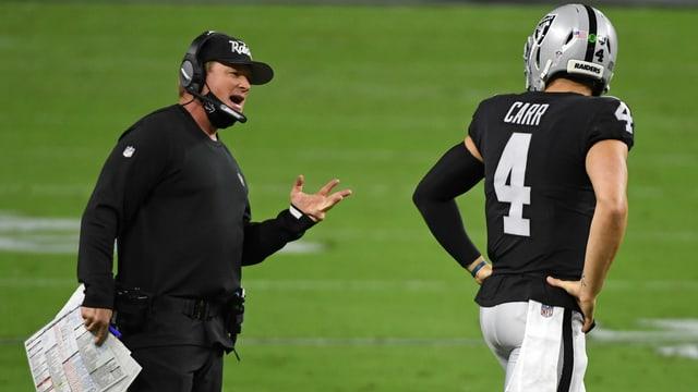 Jon Gruden, Coach der Las Vegas Raiders.