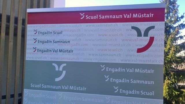 Placat DMO Scuol Samignun Val Müstair