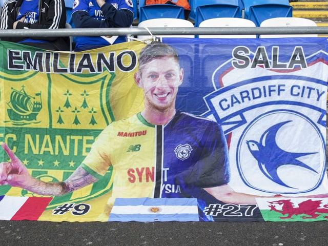 Transparent mit Emiliano Sala