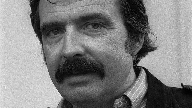 Portrait von Alain Tanner aus den 1970er Jahren.