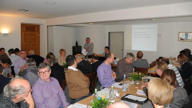 Mitgliederversammlung des Vereins für einen Regionalen Naturpark in Schaffhausen.
