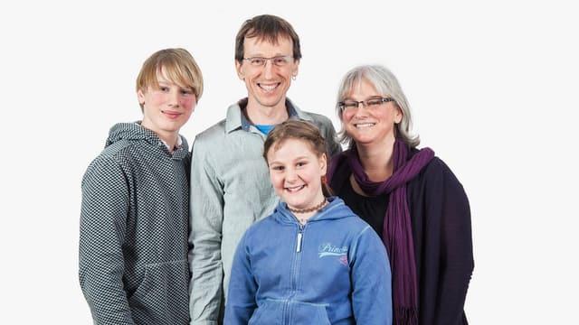 Familienfoto der Familie Büchi-Lüscher