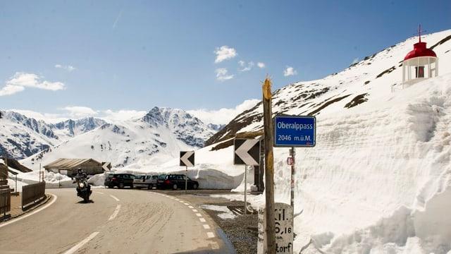 Passhöhe Oberalp