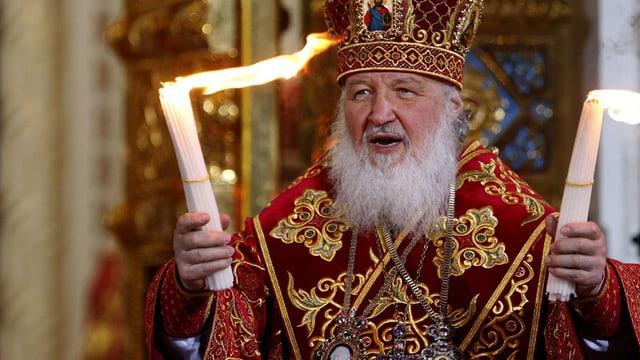 Der Moskauer Patriarch Kirill.