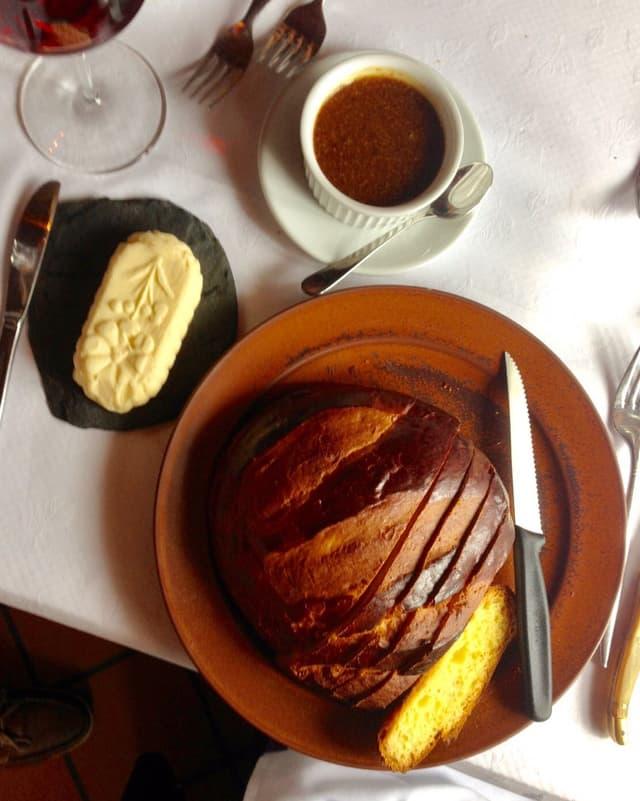 Cuchaule et moutarde de Bénichon.