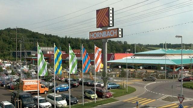Baufachmarkt Hornbach im Littauer Boden