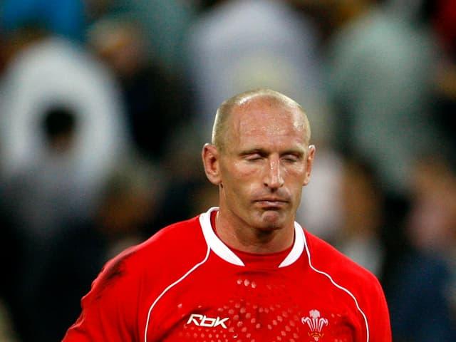 Der frühere walisische Rugbyspieler Gareth Thomas
