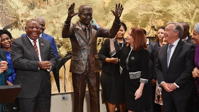 Vereinte Nationen ehren Nelson Mandela