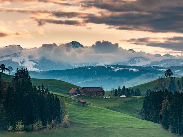 Die Schweiz ist bei jedem Wetter wunderschön.