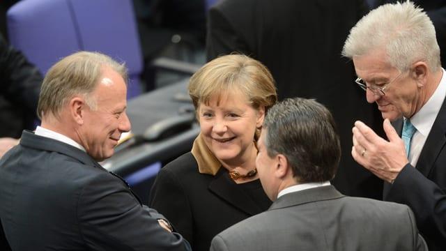 Trittin, Merkel, Kretschmann