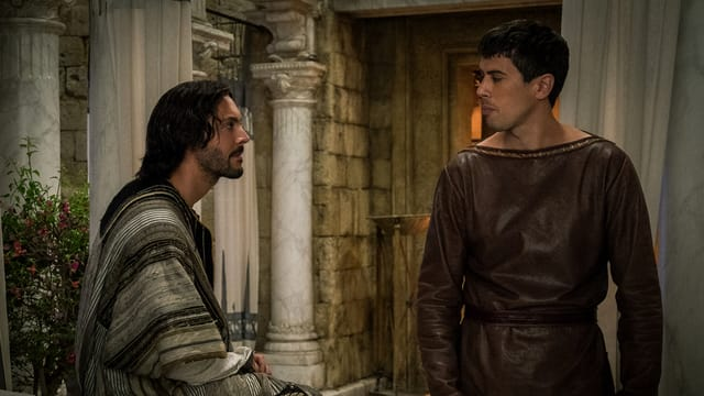 Judah Ben Hur (sanester) e ses frar Messala Severus.