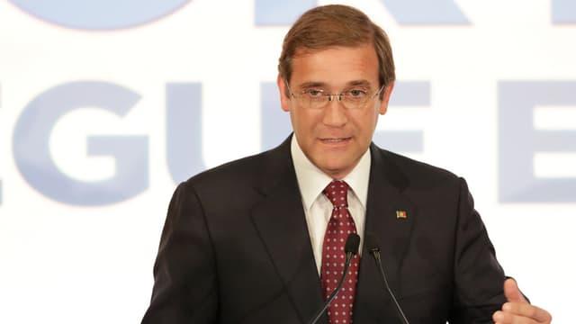 Il primminister portugais Pedro Passos Coelho.