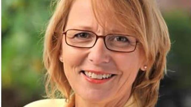 Die neue Landratspräsidentin Marianne Hollinger.