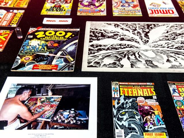 Eine Auslegung von Jack Kirbys Comics und Illustrationen