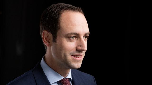 Als FDP-Präsident nimmt er sich aus dem Rennen: Der Berner Nationalrat Christian Wasserfallen.
