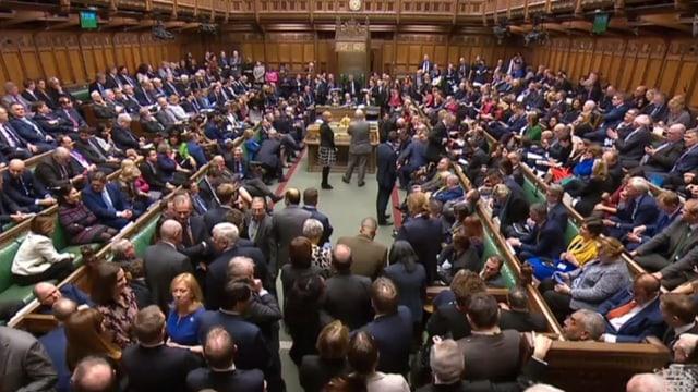 Impressiun or dal parlament da la Gronda Britannia.