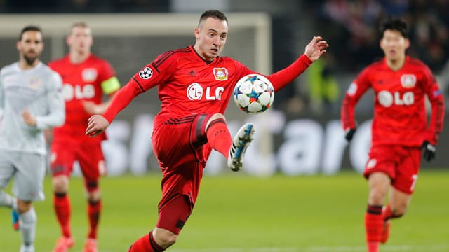Il giugader svizzer che dat per Leverkusen, Josip Drmic.