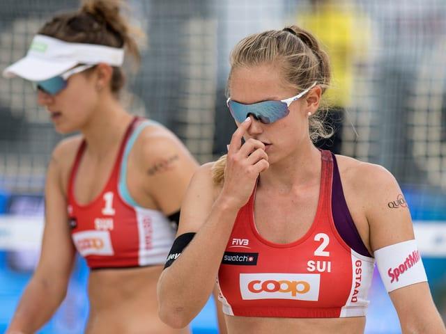 Nina Betschart und Tanja Hüberli.