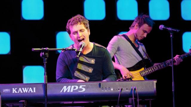 Mit ihren melodiösen Popsongs der Marke Coldplay überzeugten sie das Showcase Publikum.