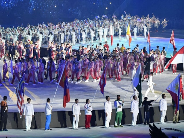 2018 waren über 11'000 Sportlerinnen und Sportler an den Asienspielen dabei.