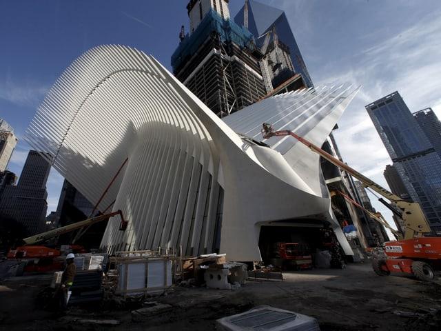«Oculus» ragt auf Ground Zero aus dem Boden.
