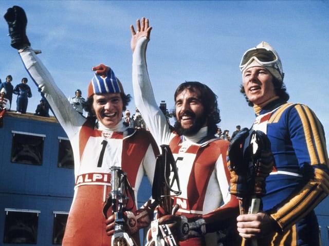 Heini Hemmi, Ingemark Stenmark e Ernst Good