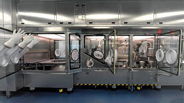 Roche-Produktionsbetrieb in Kaiseraugst (AG).