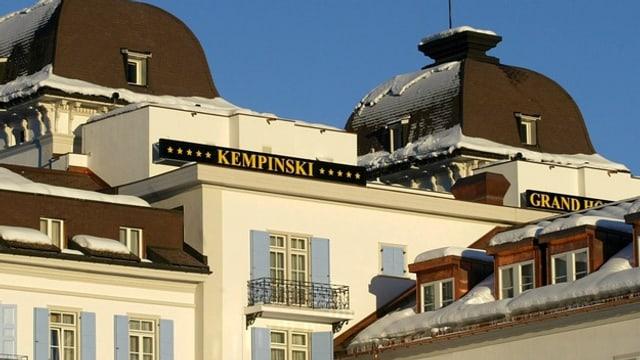 La gruppa Kempinski maina tranter auter il Grand Hotel des Bains a San Murezzan.