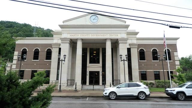 Das neue Regierungsgebäude des Martin County.