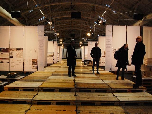 Ausstellung in der Langenthaler Markthalle.