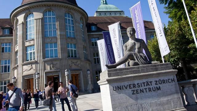 Haupportal der Universität Zürich