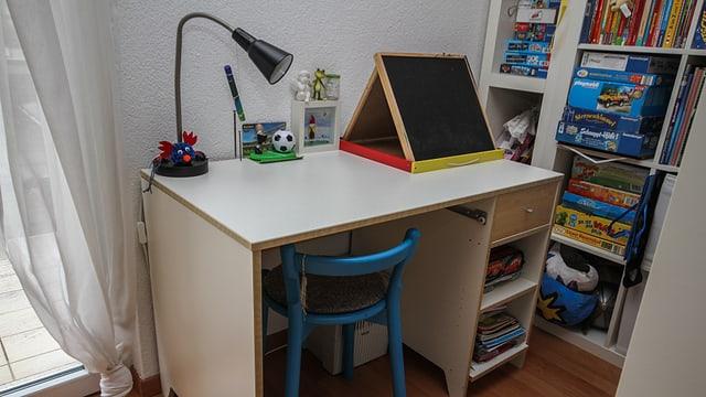 Das alte Schreibtisch