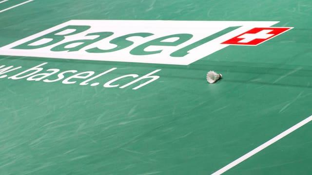 Das Logo von Basel und ein Federball