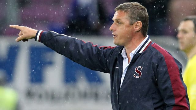 Sébastien Fournier würde auch in der Challenge League Servette-Trainer bleiben.
