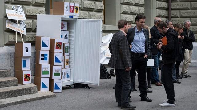 Il 2013 è l'iniziativa vegnida inoltrada a Berna.