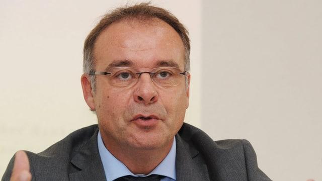 Porträt von Bankenombudsman Franchetti (Bild von 2013).