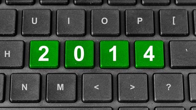 Tastatur mit 2014